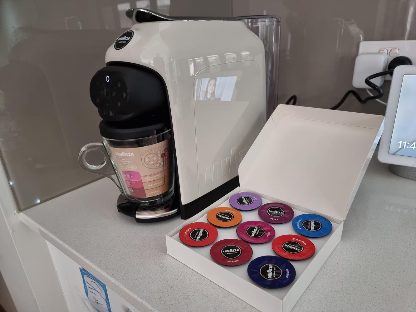 Reseña: máquina de café Lavazza Deséa