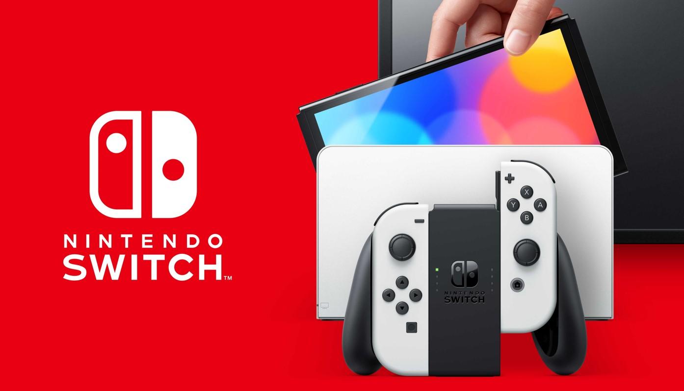 """Nintendo Switch viene con una nueva pantalla OLED de 7 """"a partir del 8 de octubre"""