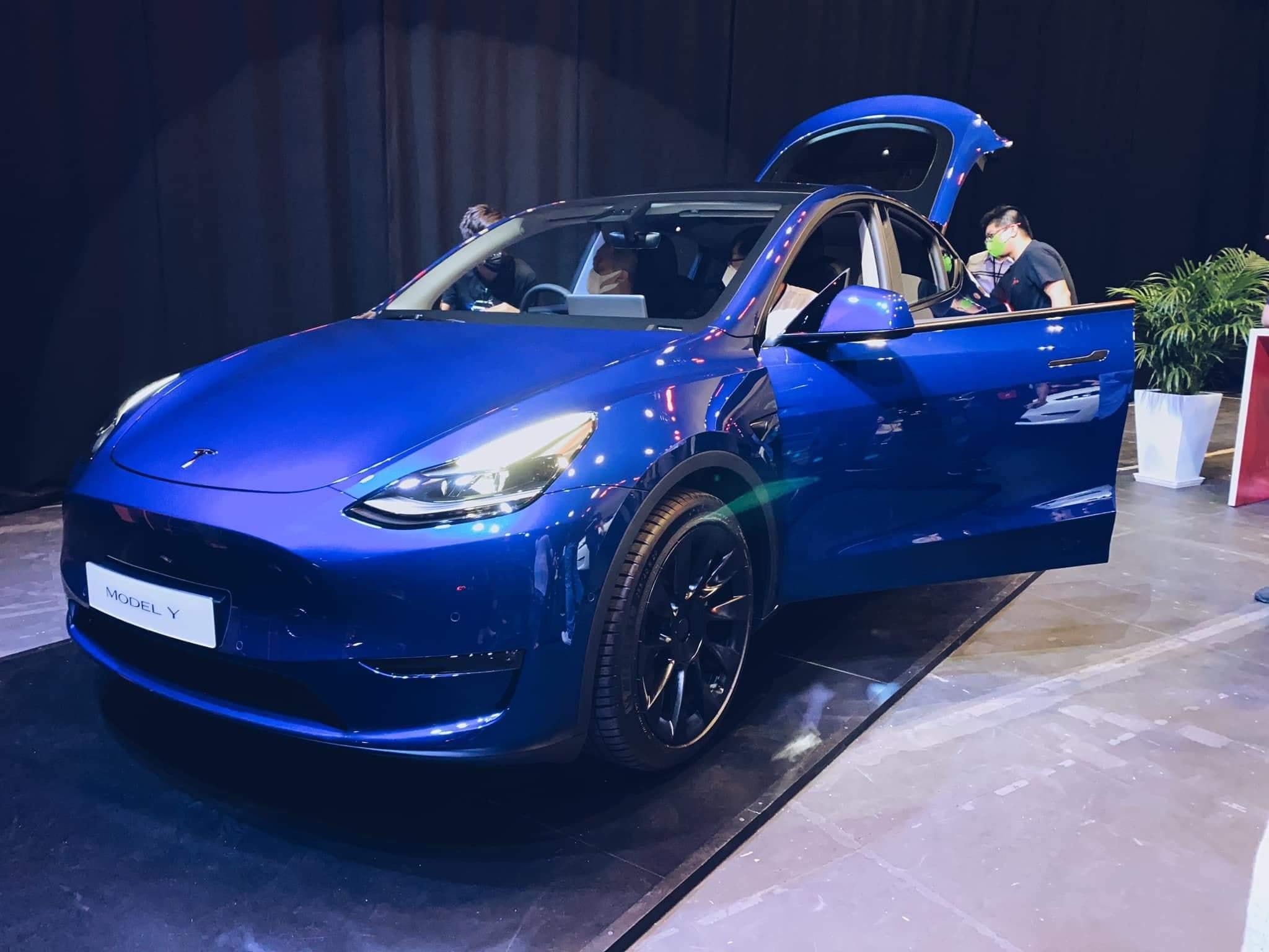 Michelin's new Pilot Sport EV Tyre shows up on Tesla Model Y in Hong Kong - techAU