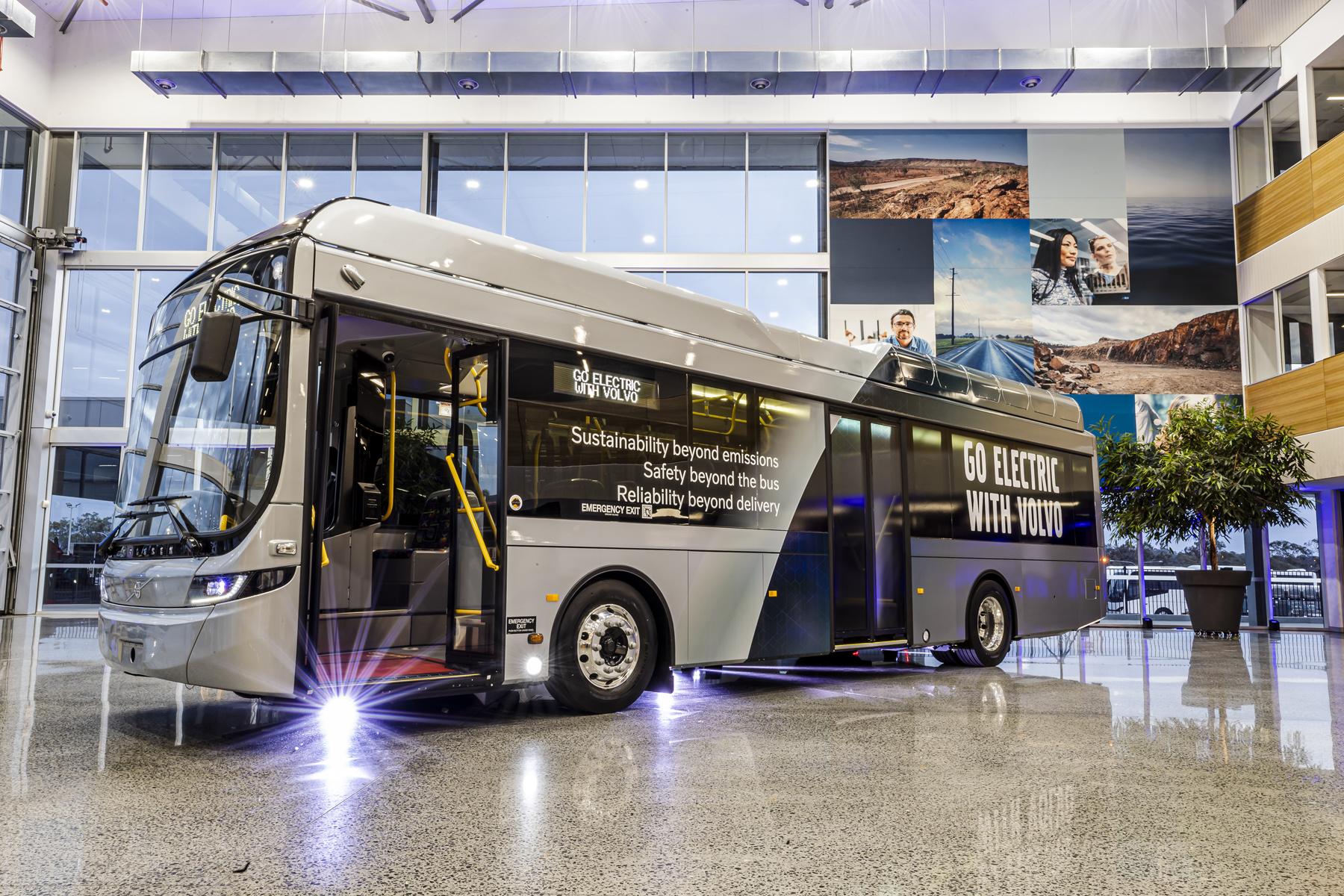Volvo lanza el nuevo chasis eléctrico Volvo BZL para autobuses