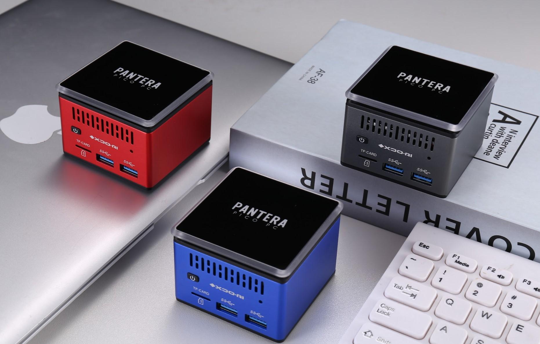 XDO Pantera Pico PC es una pequeña PC realmente capaz que acaba de lanzarse en Kickstarter