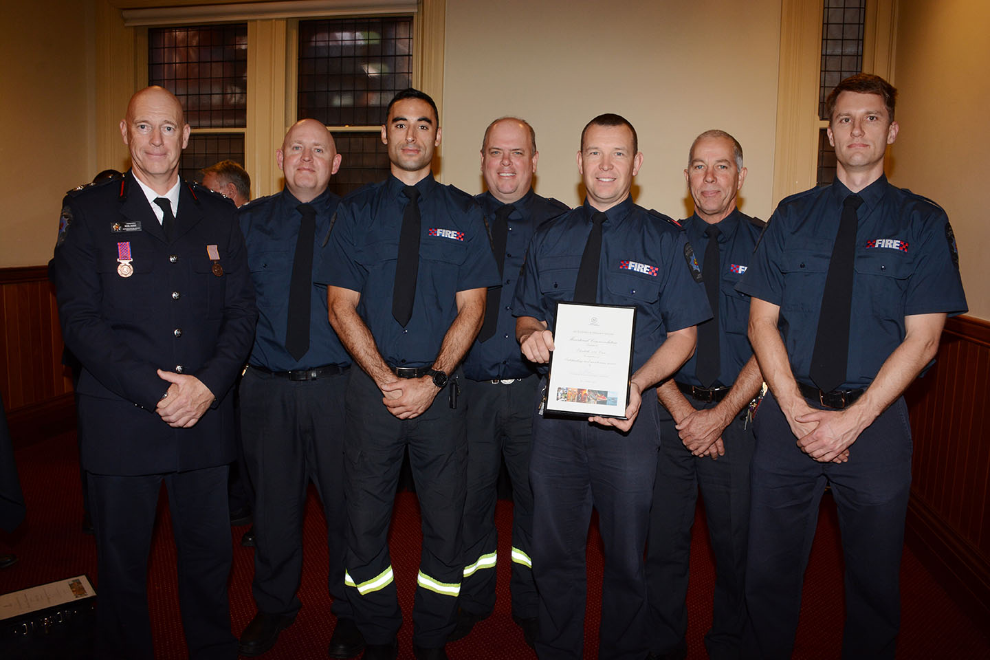Emergency Services Medal and Commendations - Crew