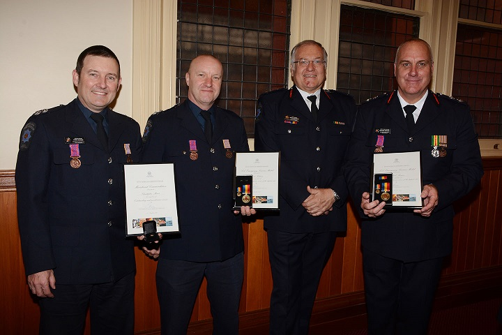 Emergency Services Medal and Commendations - group inc chief