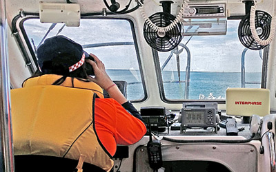 SES Sea Rescue Volunteer