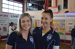 MFS Image - Open day with Courtney and Nicolle