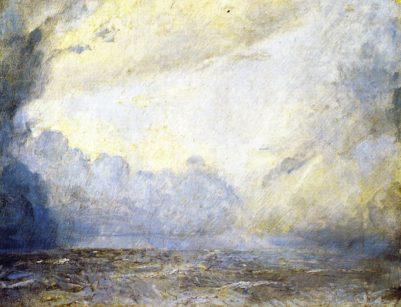 Tom Roberts 1907 - Storm at Sea