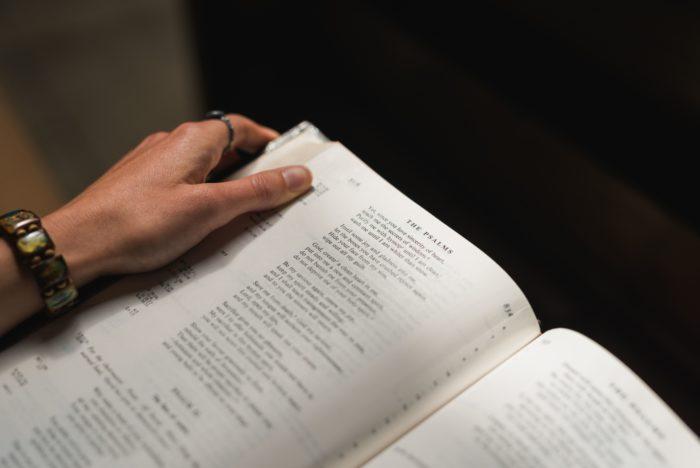 Josh Applegate Unsplash Student Reading Bible