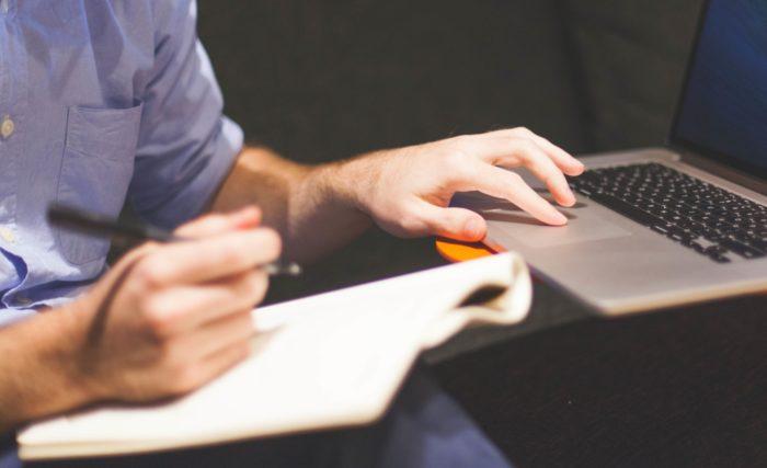 Man Notebook Study Pexels