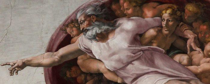 Michelangelo Creation Eve