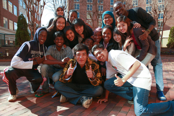 Overseas Students Flickr