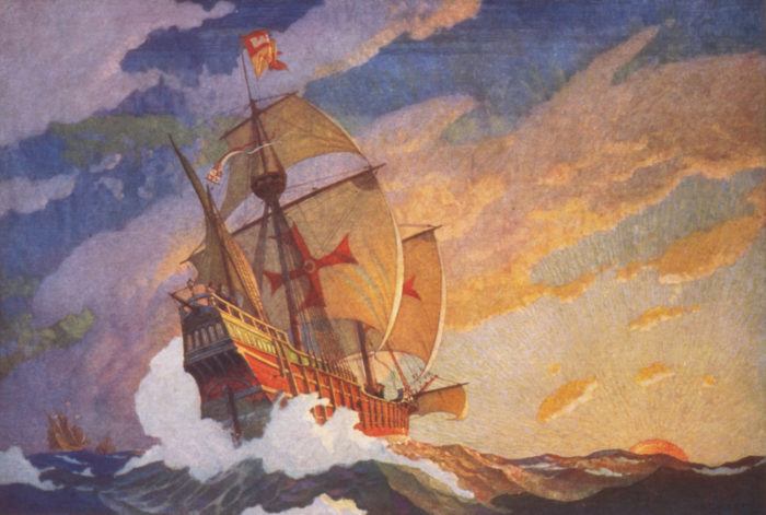 Ships Of Christopher Columbus