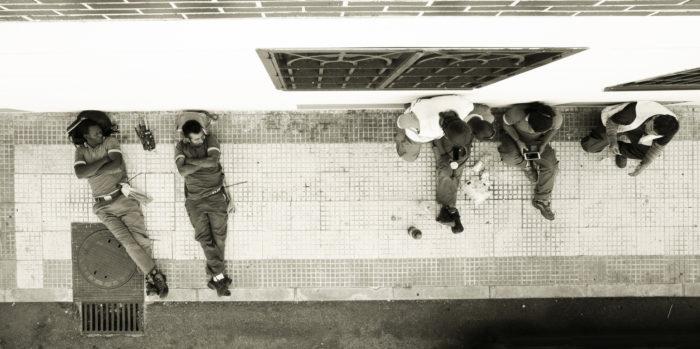 Workmen Flickr