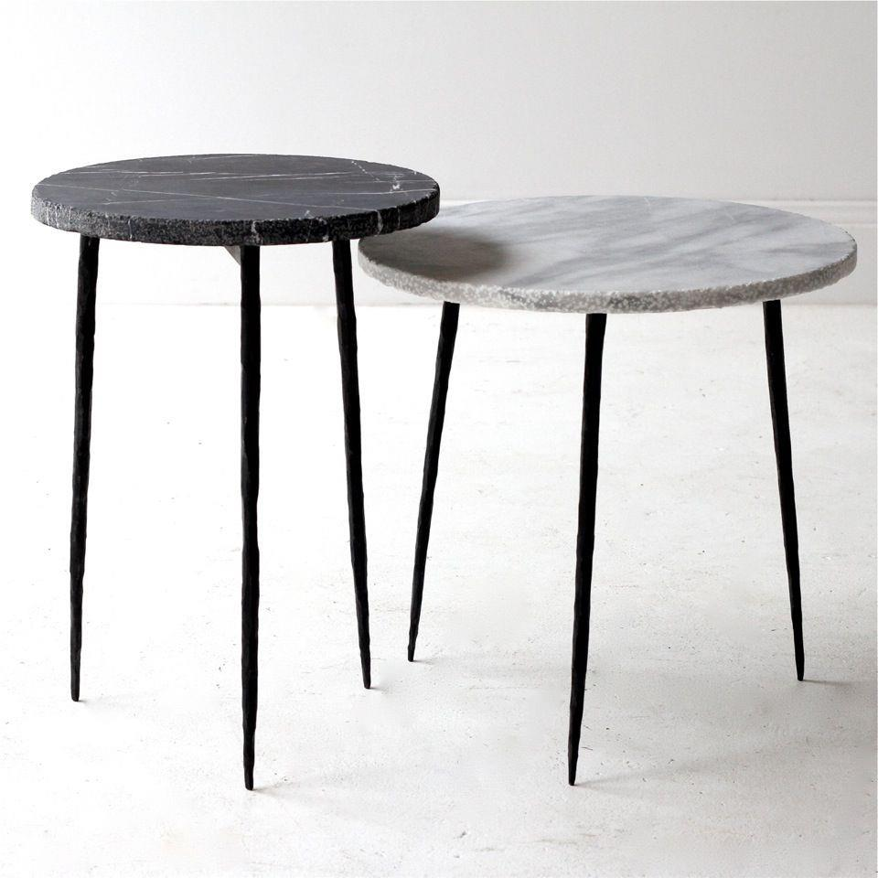 few and far side tables