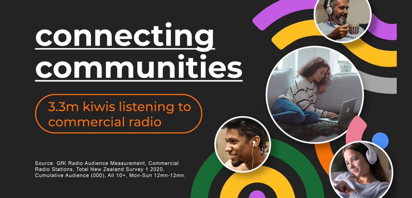 3.3 Million Kiwis Listening To Commercial Radio