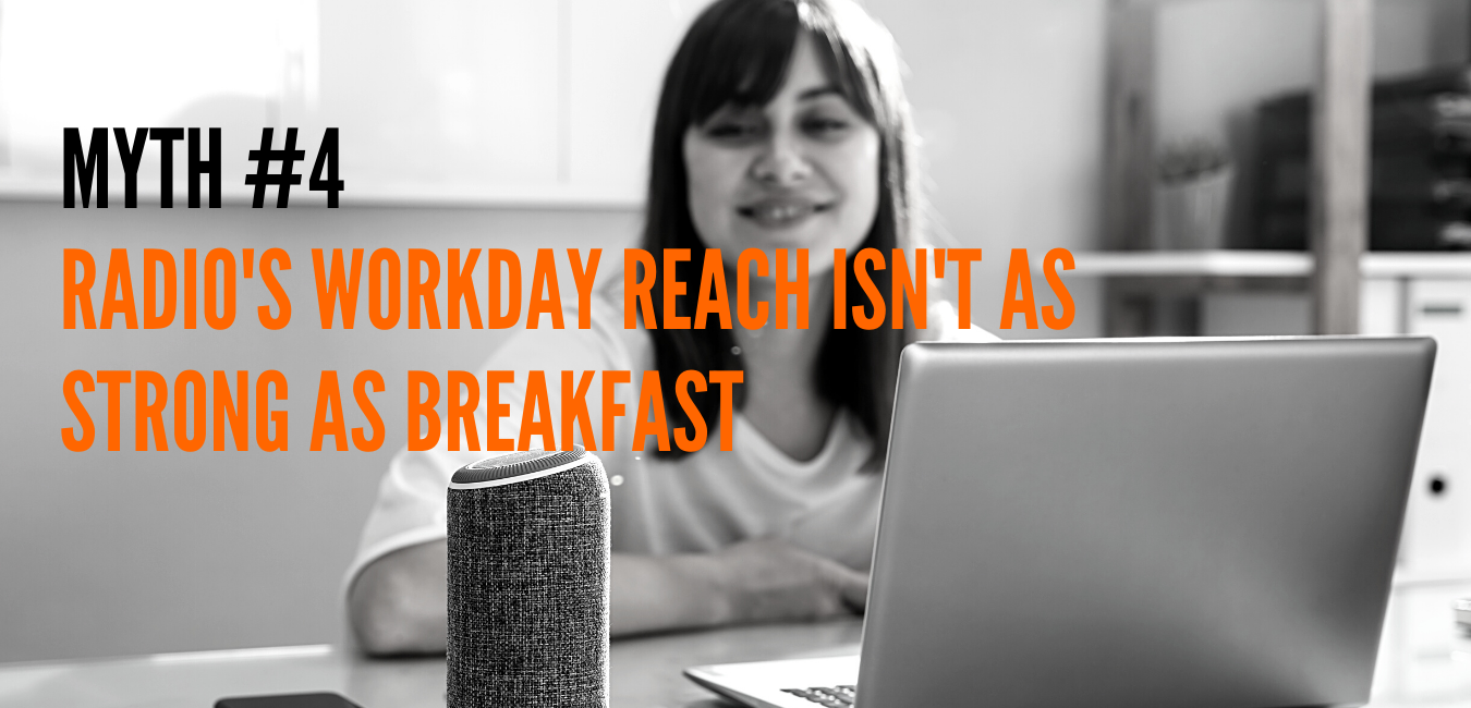 MYTH - Radio's Workday Reach Isn't As Strong As Breakfast
