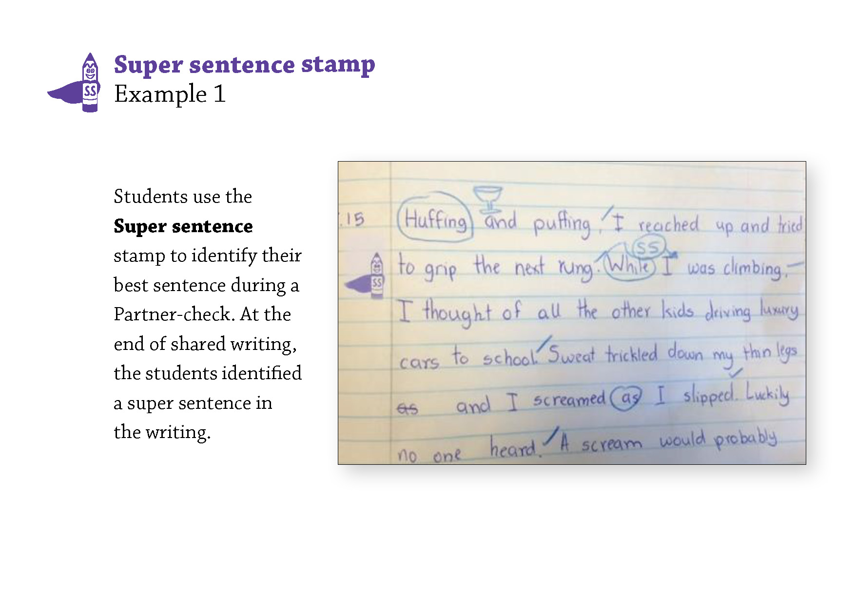 Super sentence 1