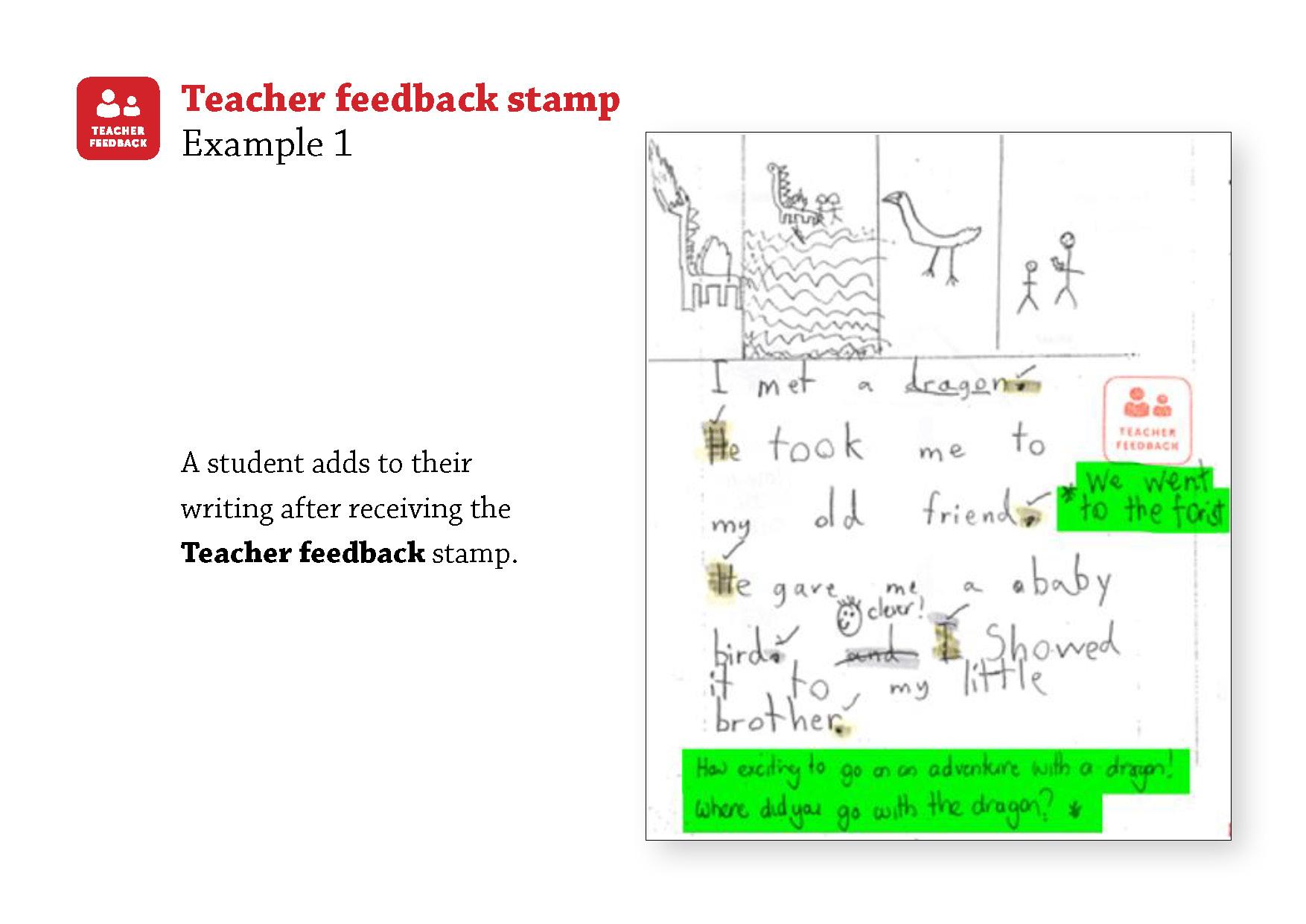 Teacher Feedback 1