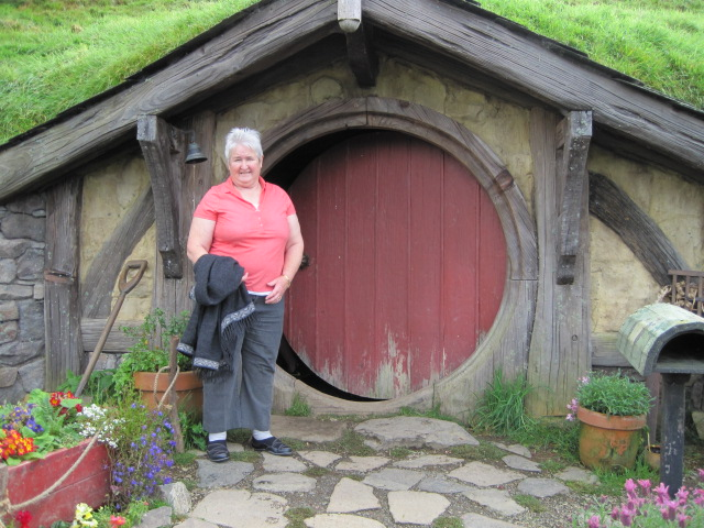 Liz at Hobbiton