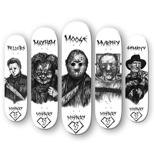 SKATEBOARD DECKS HORROR