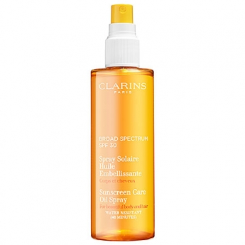 Clarins – Sunscreen Care Oil Spray Broad Spectrum SPF 30
