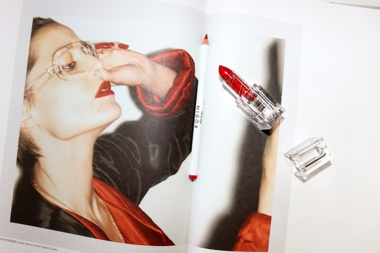 Rodin red lipstick
