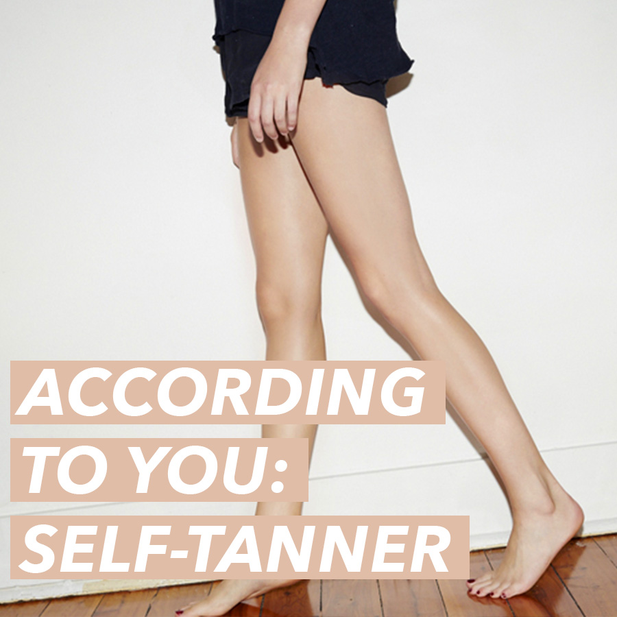According To You: The Life-Changing Self-Tanner