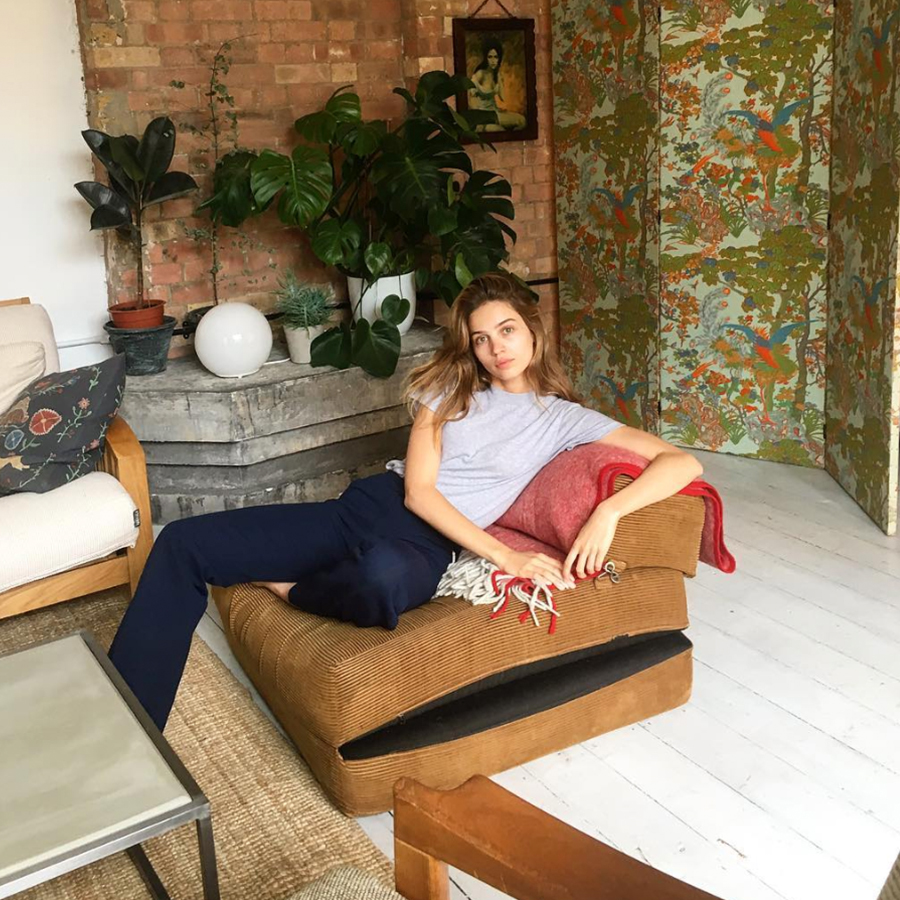 Model Constanze Saemann Believes Good Skin Comes From Peace Within