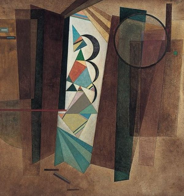 Kandinsky development in brown1933 public domain