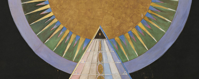 Hilma af klint  altarpiece  no. 1  group x  altarpieces  1907