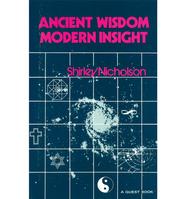 Shirley nicholson ancient wisdom modern insight white bg