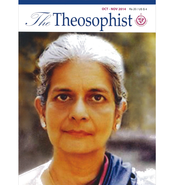 Special issue of the theosophist  october november 2014 white bg