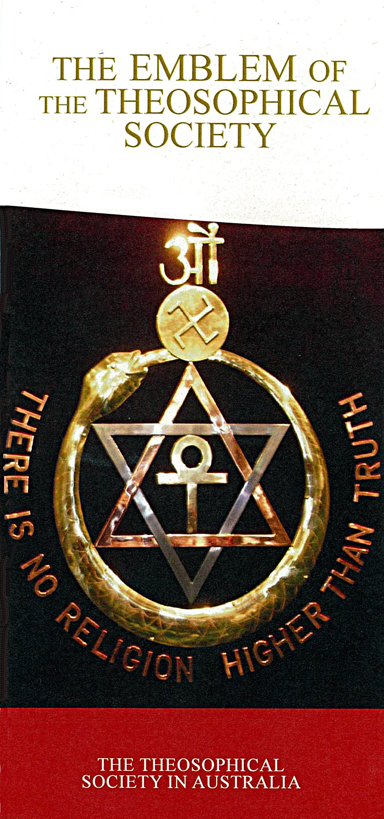 Leaflet: The Emblem of the Theosophical Society