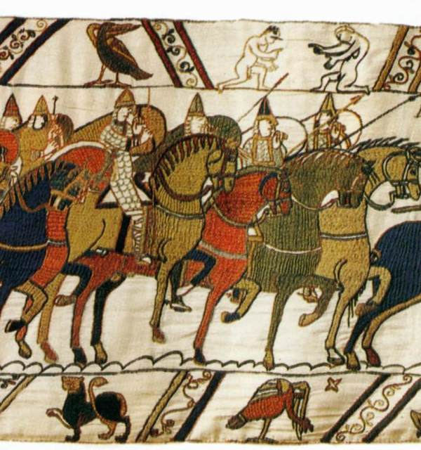 Bayeux tapestry detail 1
