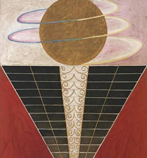 Hilma af klint altarpieces group x no.3 1915