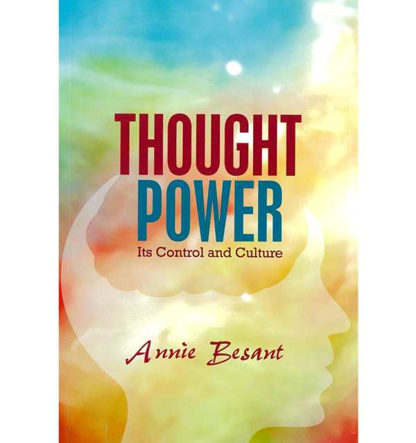 Thought power annie besant white bg