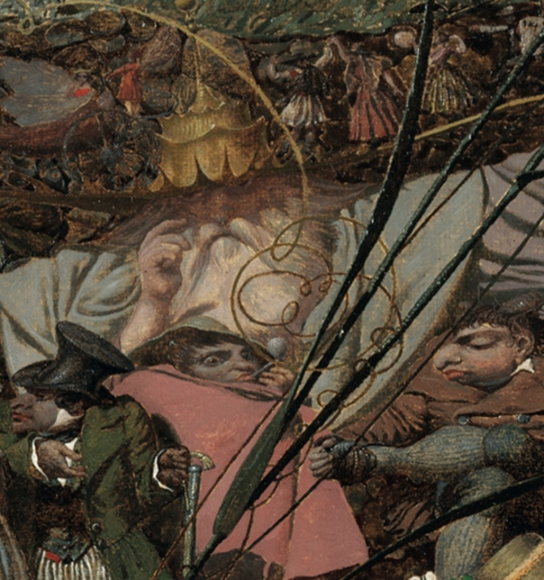 The crown patriarch %28richard dadd  the fairy feller's master stroke c.1855 64  tate%29