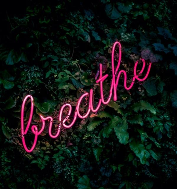 Breathe neon sign photo by fabian m%c3%b8ller on unsplash