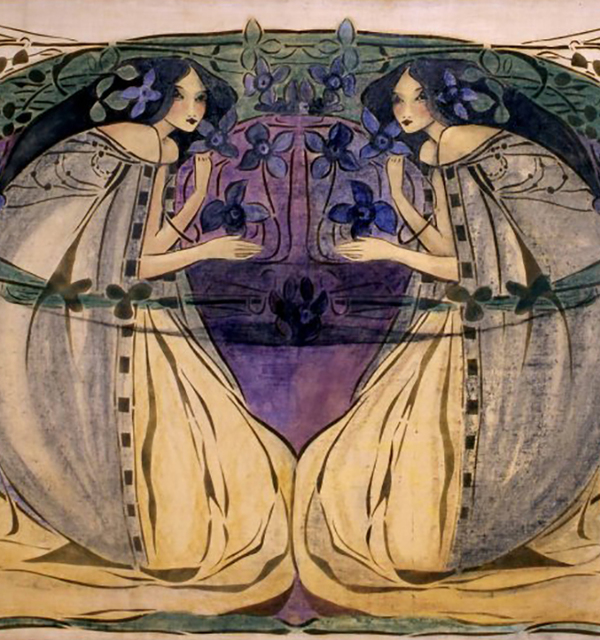 Spring  by frances macdonald %28c. 1900 1905%29