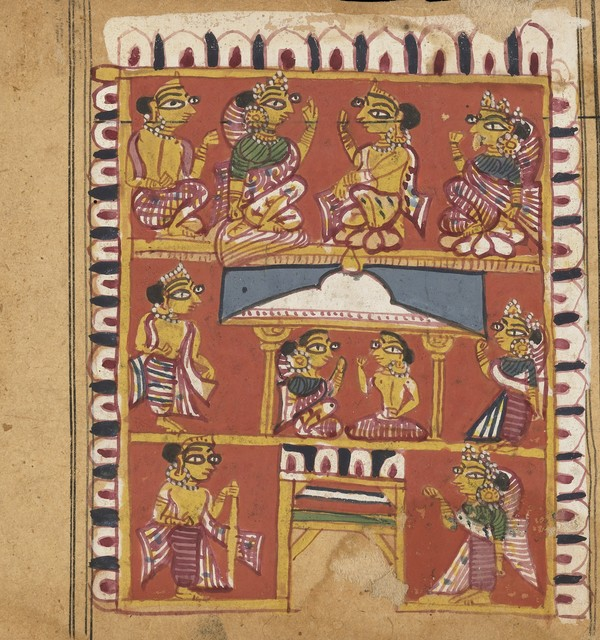 Sanskrit manuscript 1471 wellcome collection f0002902