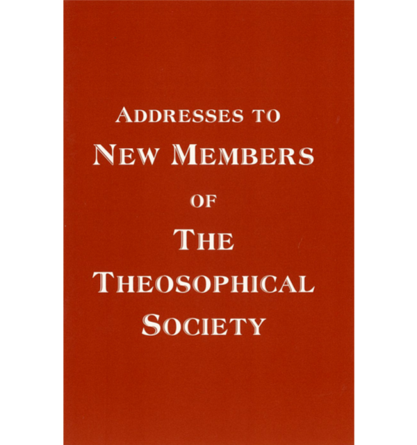 Addresses to new members of the ts white bg