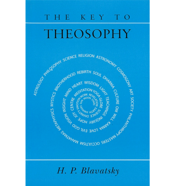 Blavatsky the key to theosophy white bg