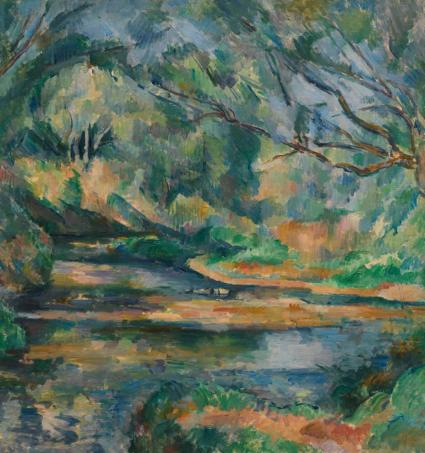 Paul cezanne %281839 1906%29 the brook