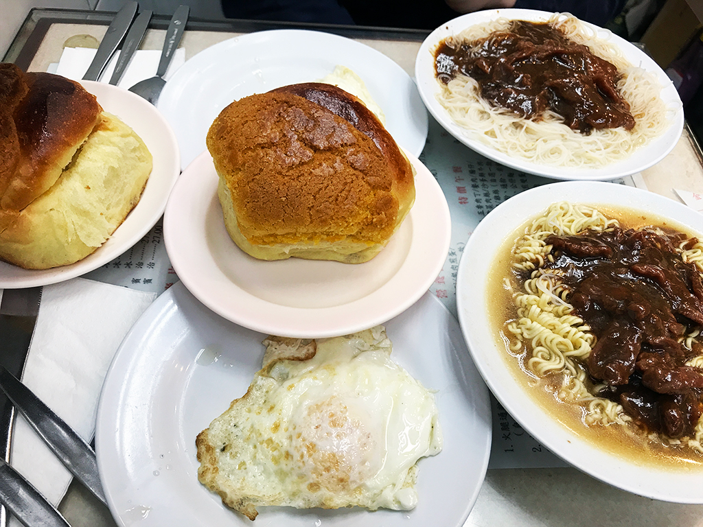 Breakfast at Kam Fung Cafe