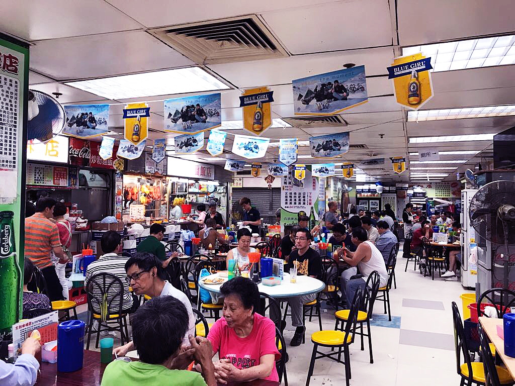 Bowrington Cooked Food Centre in Wanchai