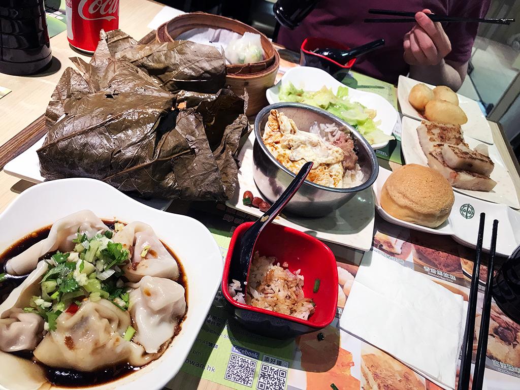 Yum Cha in Tim Ho Wan