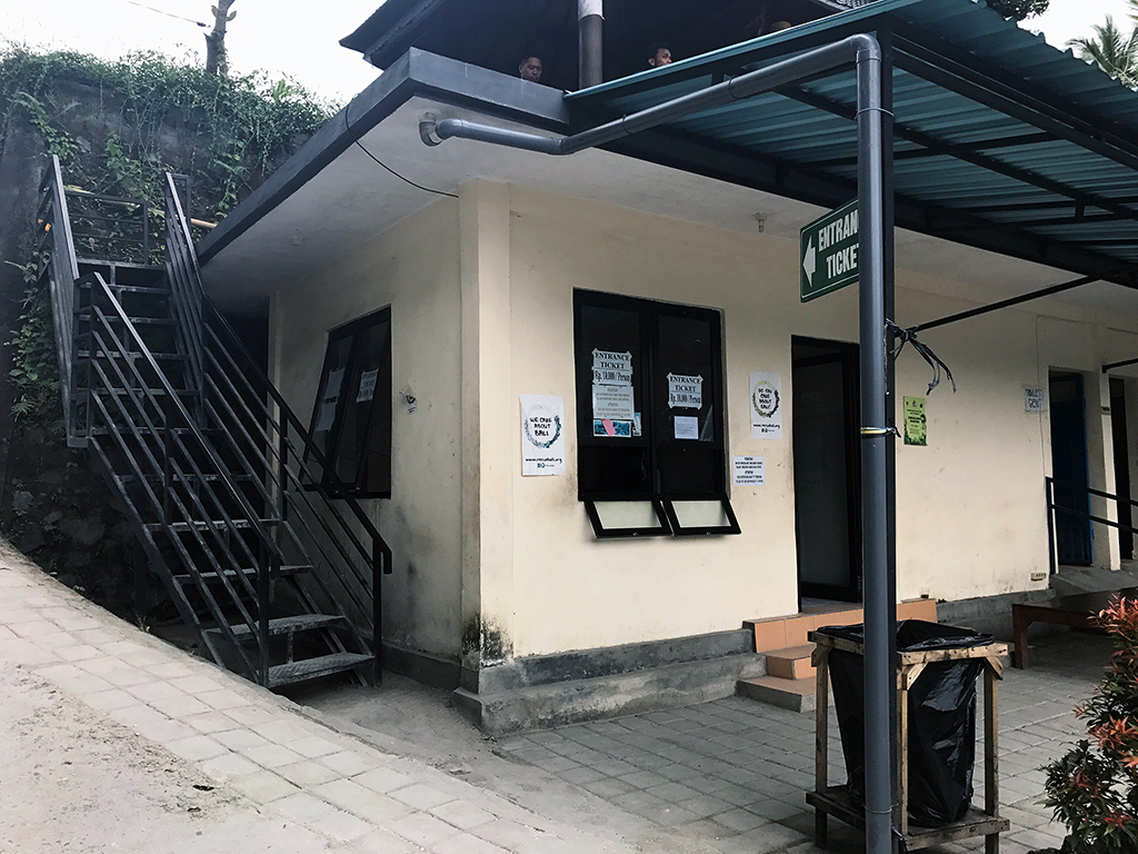 Ticket office to Tegalalang Rice Terraces