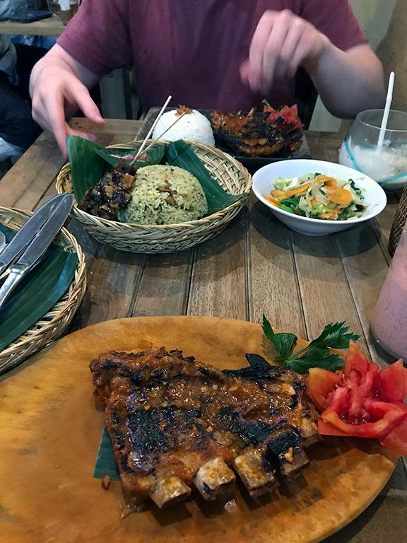 Balinese BBQ pork ribs