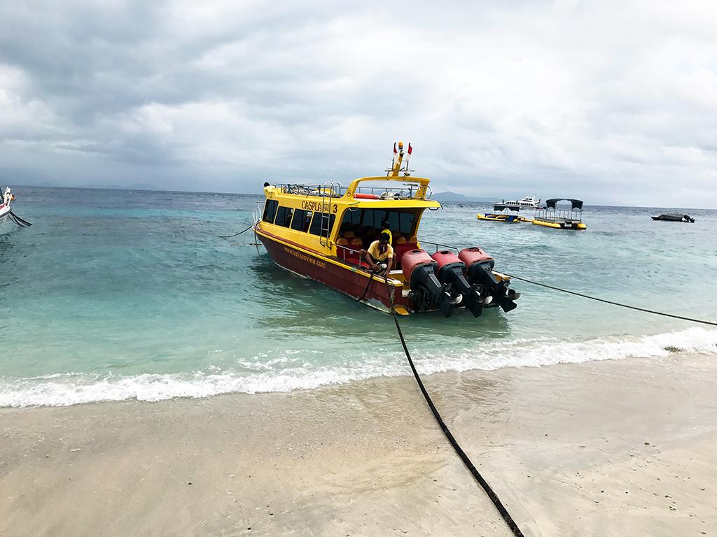 Caspla fast boat back to Sanur