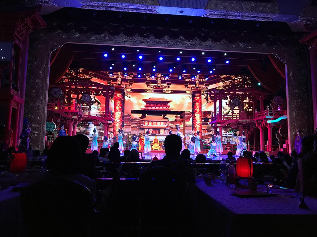 Tang Dynasty show at Xi'an