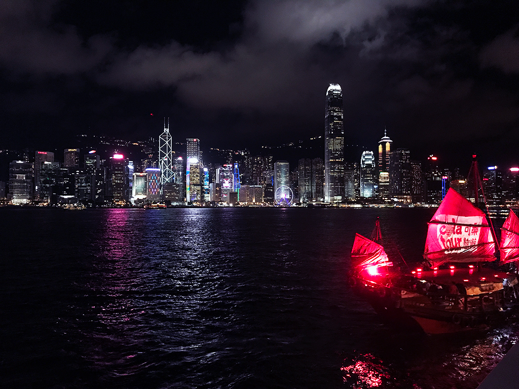 Symphony of Lights from the Tsim Sha Tsui Promenade